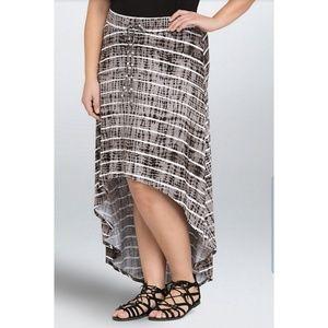 Torrid Tie Dye Hi Lo Maxi Skirt 3X